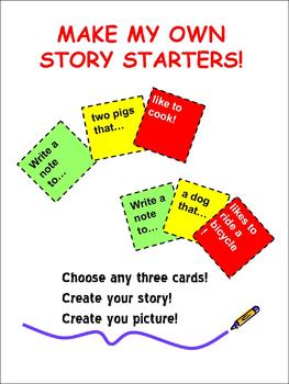 Story Starters: Make My Own