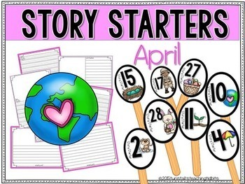 Story Starters Bundle For the Year