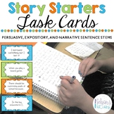Story Starter Task Cards - Narrative, Expository, and Persuasive