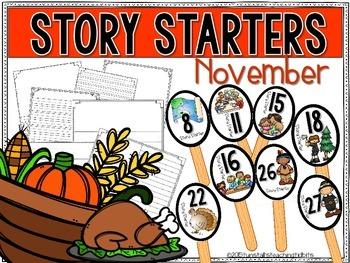 Story Starters November