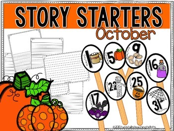 Story Starters October