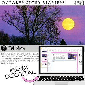 Story Starters: OCTOBER {Not Your Ordinary Writing Prompts!}