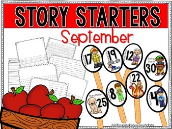 Story Starters September