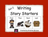 Story Starters Set 2(with First, Then, Next, and Last)