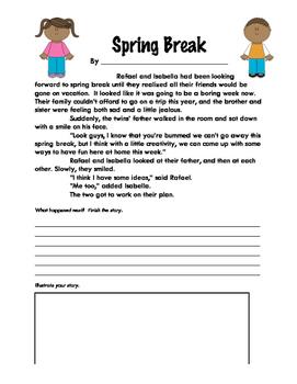 Story Starters: Spring Break