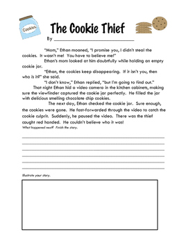 Story Starters: The Cookie Thief