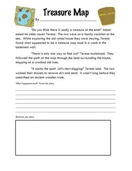 Story Starters: Treasure Map