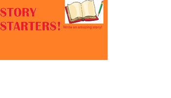 Story Starters for 1st graders