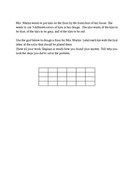 Story Starters for Math - Cooperative Learning Activity