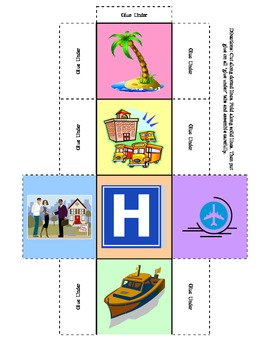 Story Starters - make your own dramatic fiction with a set of 24 ideas on 4 dice