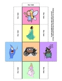 Story Starters - make your own fairy tale with a set of 24 ideas on 4 dice