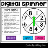 Story Stems Digital Spinner (English and Spanish Versions)