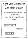 Story Stones & Sight Word Sentences