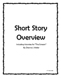 "Story Story Overview and Activities for ""The Scream"" by  D"