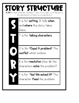 Story Structure Reading Notebook
