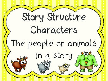 Story Structure - 3 Billy Goats Gruff
