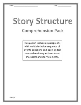 Story Structure Comprehension Pack