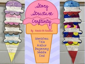 Story Structure Craftivity & Graphic Organizer