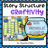 Story Structure Craftivity: Memoirs of a Goldfish