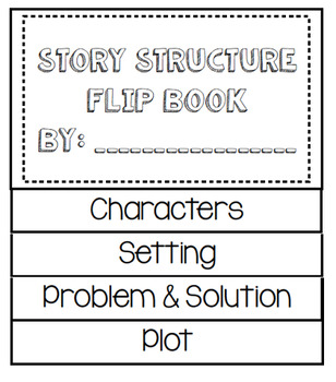Story Structure Flipbook