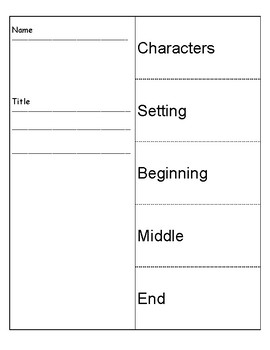 Story Structure Fold and Go
