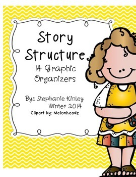 Story Structure Graphic Organizers 2