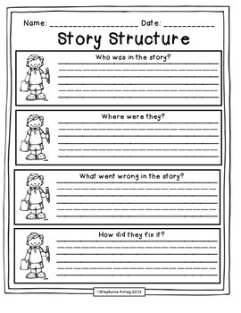 story structure graphic organizers 2 by stephanie kinley ruffner. Black Bedroom Furniture Sets. Home Design Ideas