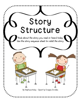 Story Structure Graphic Organizers - Solid Lines
