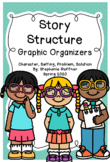 Story Structure Graphic Organizers - with Digital Files