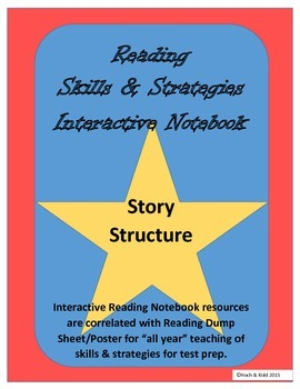 Story Structure Interactive Notebook with Any Story