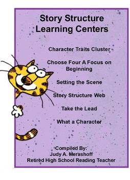 Story Structure Learning Centers Teacher Supplemental Resources Fun and Engaging