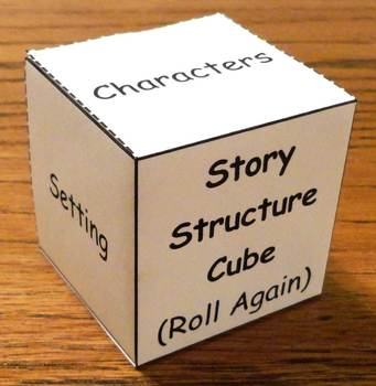 Story Structure Learning Cube