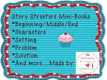 Story Structure Mini-Book ~ No Prep!