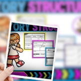 Story Structure (Story Elements) Graphic Organizers RL1.3