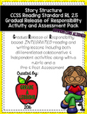 Story Structure RL2.5 G.R.R. Activities and Assessment Pack