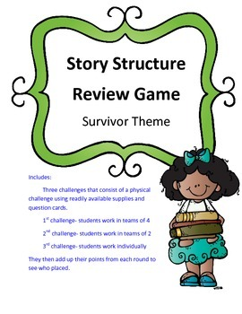 Story Structure Review Game Survivor Theme