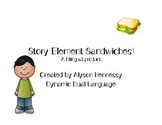 Story Structure Sandwiches! A Bilingual Activity