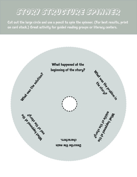 Story Structure Spinner