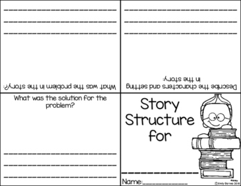 Story Structure/ Story Elements FREEBIE