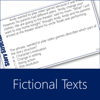 Story Structure Task Cards 1 (Character, Setting, Plot)