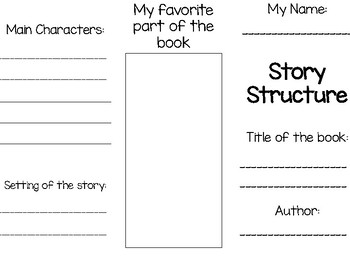 Story Structure Tri-Fold