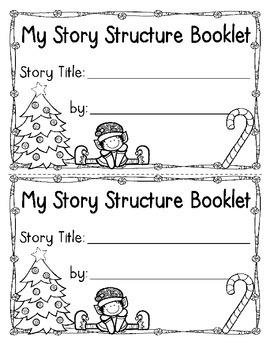Story Structure and Reading Strategy Booklets {Christmas Edition!}