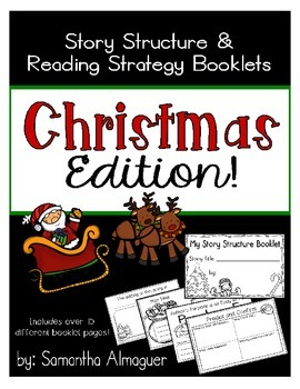 Story Structure and Reading Strategy Booklets {Christmas E