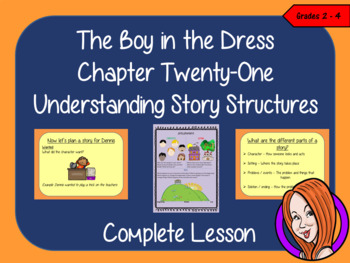 Story Structures; Complete Lesson  – The Boy in the Dress