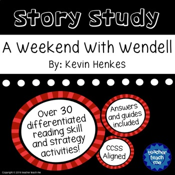 Story Study - A Weekend With Wendell