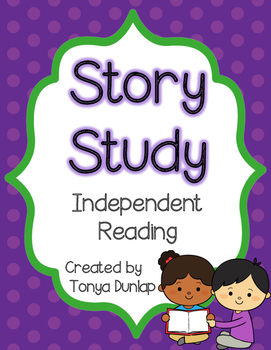 Story Study Worksheets, Story Elements, Comprehension