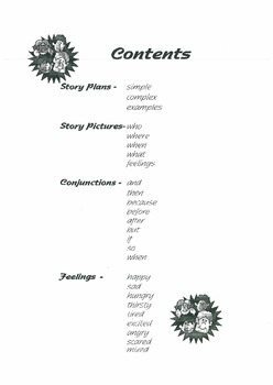 Story Stuff - book for oral and written narrative and story telling