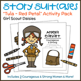 """Story Suitcases - Girl Scout Daisies - """"Tula - Red Petal"""" (Steps 2 & 3)"""