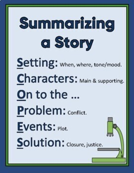 Summarizing A Story: Gradual Release Of Responsibility