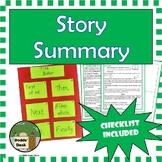 Story Summary – End-of-Unit Project - Summarizing Project